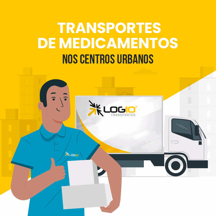 Transporte de medicamento em [city]