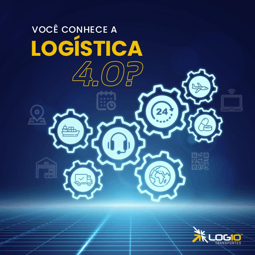 Você já conhece a Logística 4.0?